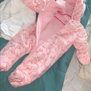 Baby Girl Winter Snuggle